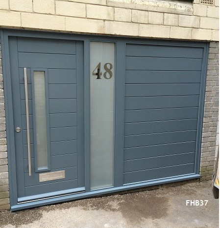 Contemporary Door FHB37 - Bespoke Doors and Windows