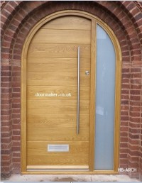 contemporary arched doors