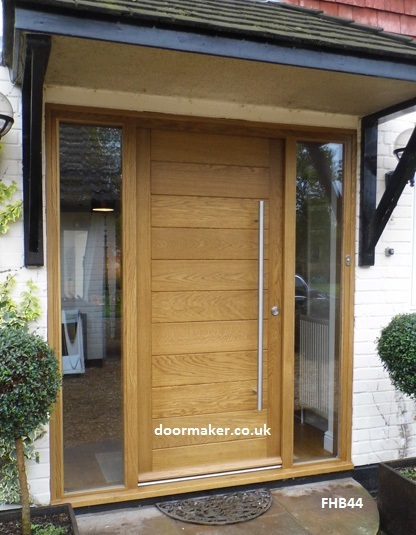 Contemporarydoor oak fhb44 bespoke doors and windows for Modern glass porch designs