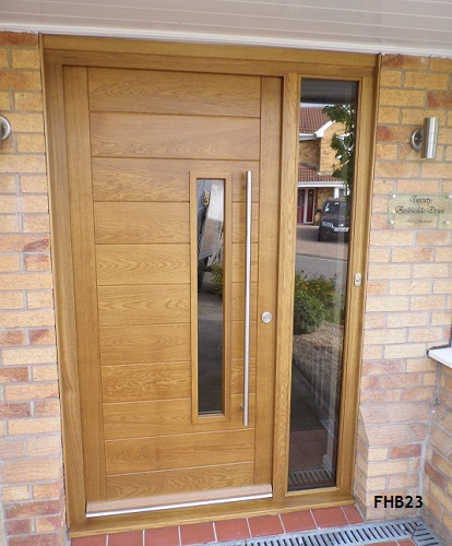 contemporarydoorfhb23. FHB 3 Pane Contemporary Doors & Contemporary Doors - Bespoke Doors and Windows