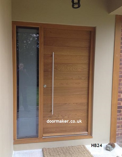 contemporary doors with sidelights oak