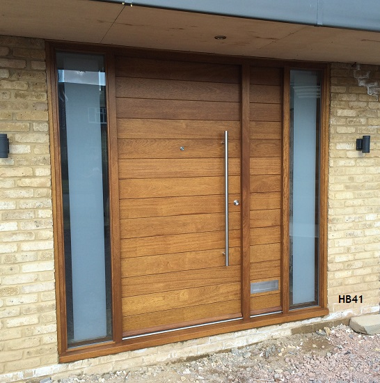 Iroko doors bespoke doors and windows for Large wooden front doors