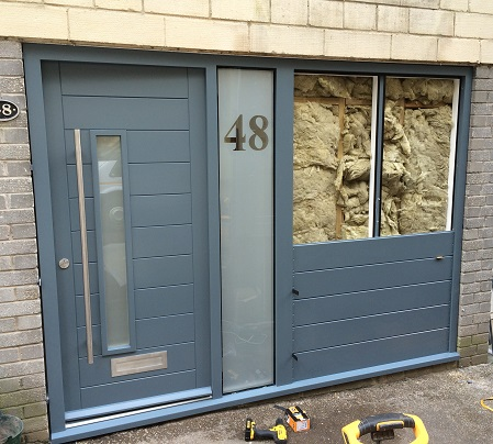 Contemporary Door Fhb37 Bespoke Doors And Windows