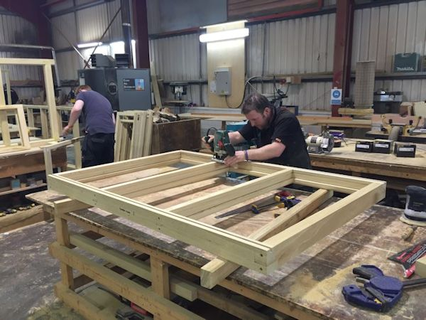 Joinery workshop
