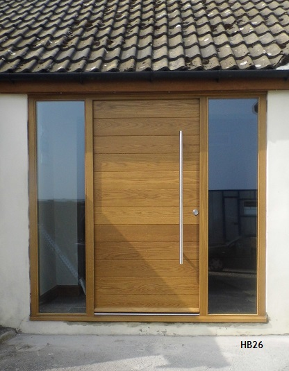 contemporary doors oak