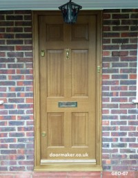 georgian panel door oak