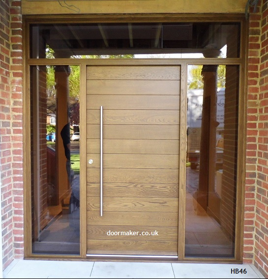 Contemporary door hb46 bespoke doors and windows for 1200mm front door