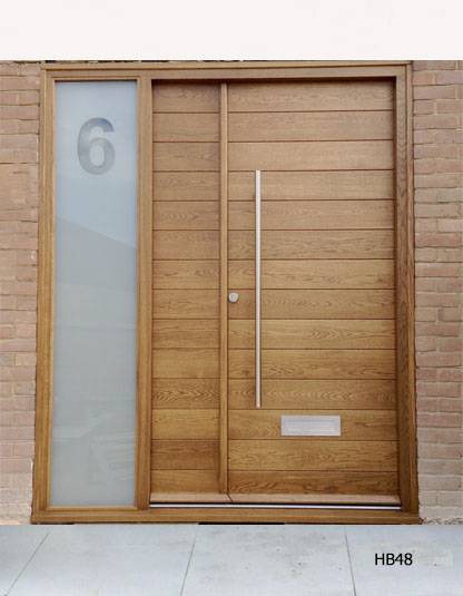 Contemporary Double Doors Hb48 Bespoke Doors And Windows