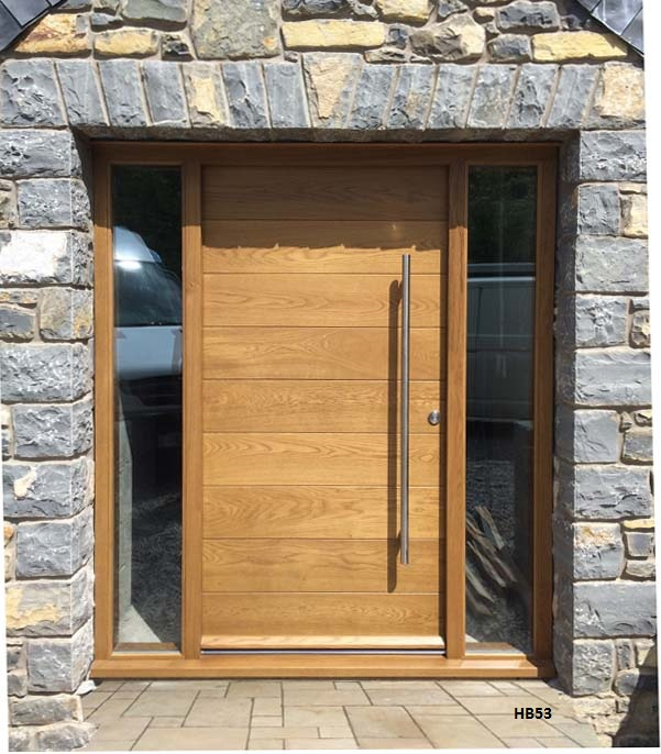 Contemporary front door hb53 bespoke doors and windows for Modern front doors