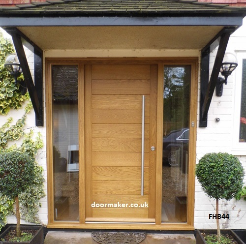 Contemporary front door fhb44 bespoke doors and windows for Contemporary front doors