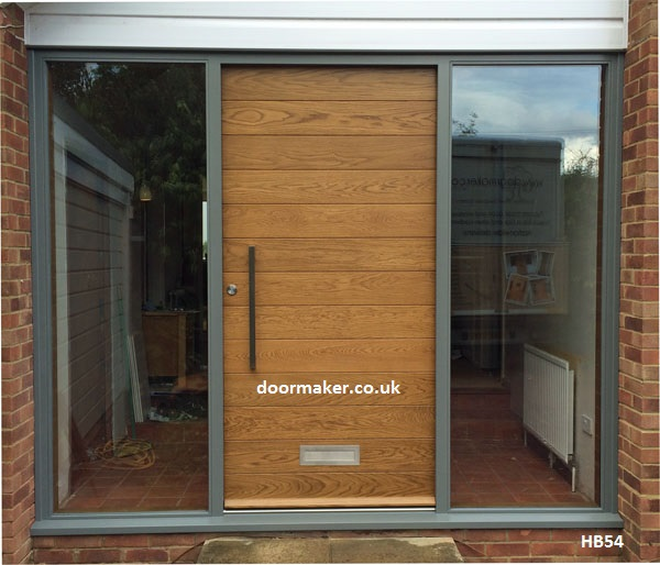 Contemporary Front Door Hb54 Bespoke Doors And Windows