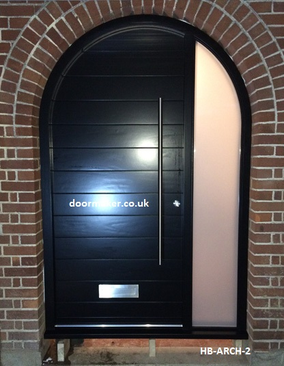Contemporary arched door hb arch 2 bespoke doors and windows for Main door arch designs