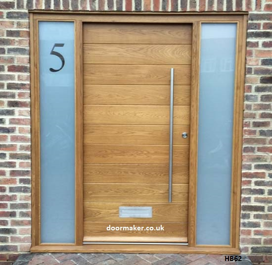 Contemporary front door hb62 bespoke doors and windows Modern white front door