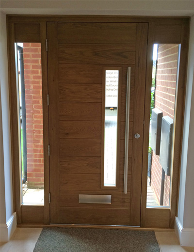 Contemporary door fhb48 bespoke doors and windows for Door furniture uk