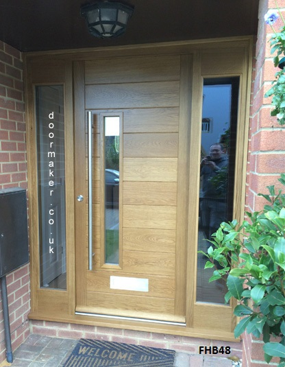 Contemporary Door Fhb48 Bespoke Doors And Windows