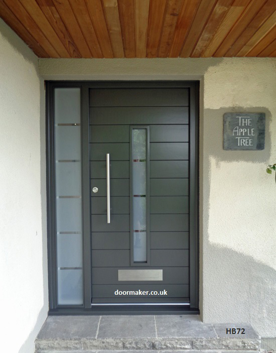 Contemporary front door hb72 bespoke doors and windows Modern white front door